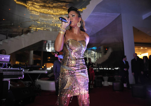 ashanti e Hot Shots: Ashanti At Delphine Launch