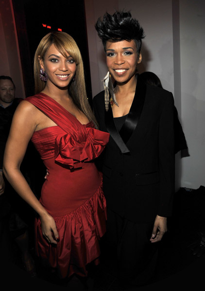 beyonce heat 51 Hot Shots: Beyonce And Michelle Williams At Heat Launch