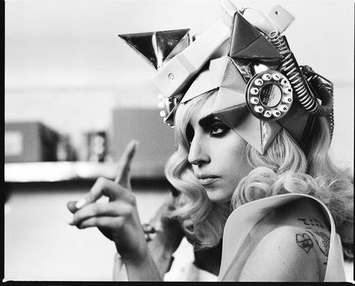 Lady Gaga Telephone Hat. Hot Shots: More Lady GaGa