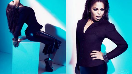 Janet Jackson's Full Wonderland Interview; Talks New Album, MJ, Movies, Rihanna, GaGa & More