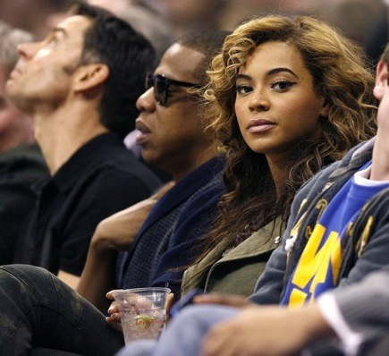 jb4 Hot Shots: Beyonce & Jay Z At Lakers Game
