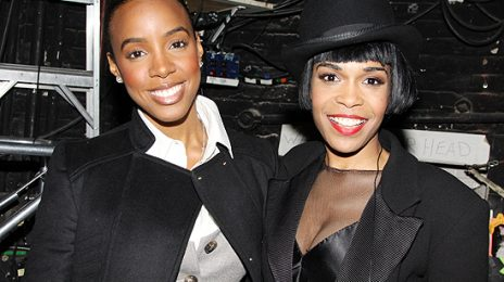 Hot Shots: Michelle Williams & Kelly Rowland At 'Chicago'