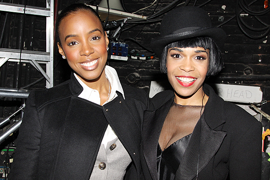 kelly and michelle Hot Shots: Michelle Williams & Kelly Rowland At Chicago