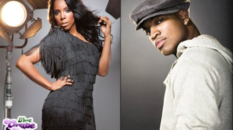 Kelly Rowland Hits The Studio With Ne-Yo