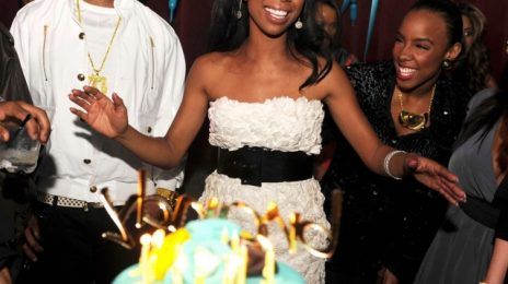 Hot Shots: Brandy & Kelly Rowland Celebrate Birthdays At Mansion