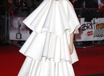 Hot Shot: Lady GaGa Arrives On BRIT Awards Red Carpet