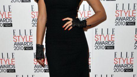Hot Shots: Leona Lewis At Elle Style Awards