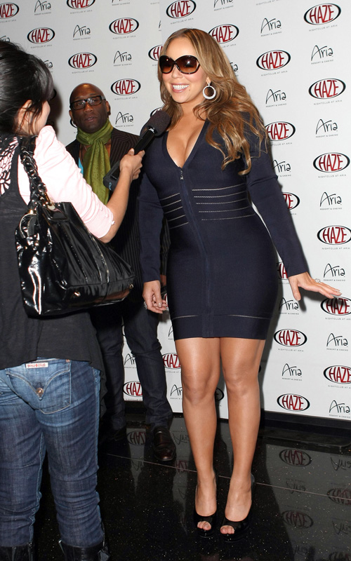 mariah haze3 Hot Shots: Ciara & Mariah At Haze Nightclub