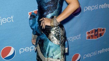 Hot Shots: Rihanna Hosts Pepsi Party