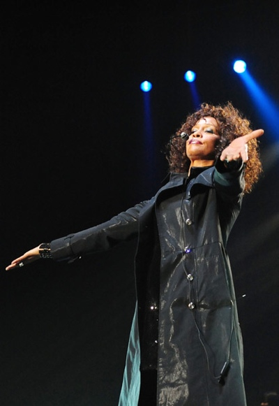 thatgrapejuice210 Hot Shots: Whitney Houston Performs In Japan