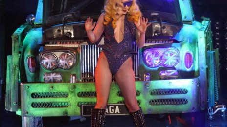 Hot Shots: Lady GaGa Has A Ball In Liverpool