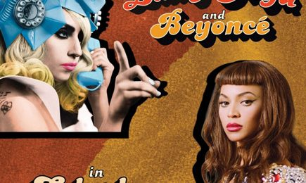 Hot Shot: Lady GaGa - 'Telephone (Ft. Beyonce)' Single Cover