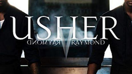 Hot Shot: Usher's 'Raymond Vs. Raymond' Cover Art