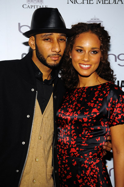 alicia 1 Hot Shots: Alicia Keys & Swizz Beats Go Public With Relationship
