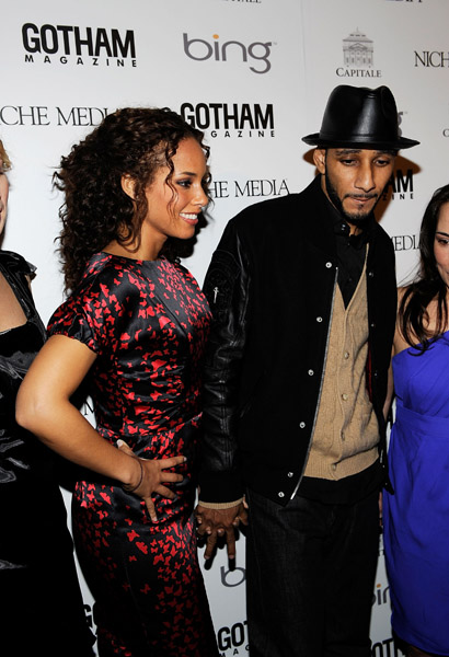 alicia 2 Hot Shots: Alicia Keys & Swizz Beats Go Public With Relationship