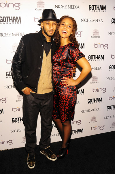 alicia 4a Hot Shots: Alicia Keys & Swizz Beats Go Public With Relationship