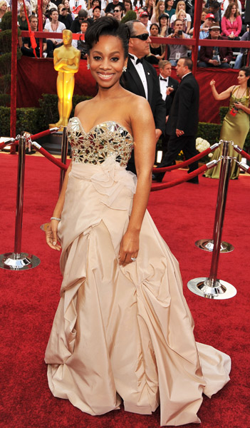 anika oscar Hot Shots: Oscar Awards 2010 Red Carpet
