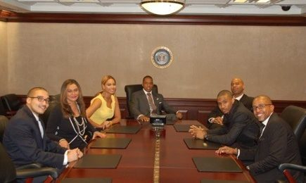 Hot Shots: Jay-Z, Beyonce, & Trey Songz At The White House