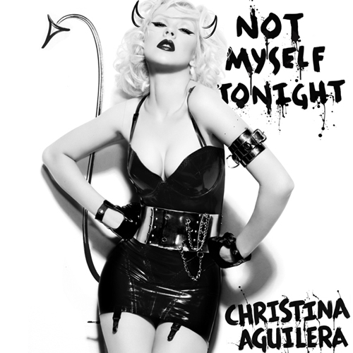 christina not myself tonight Christina Aguilera Shares New Lyrics With Fans