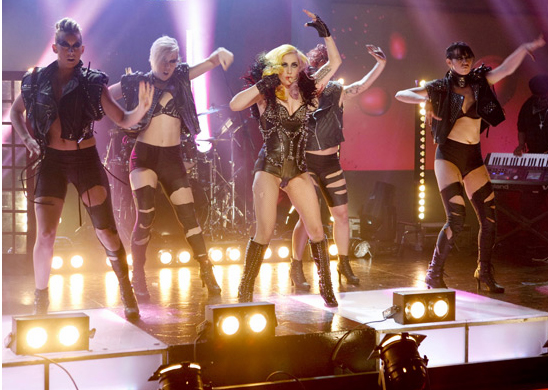 gaga ross2 Hot Shots: Lady GaGa On Jonathan Ross Show (A Must See)