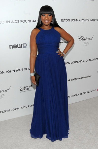 jennifer hudson Hot Shots: Stars At Elton John Oscar After Party