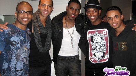 Hot Shot: Jason Derulo Meets JLS