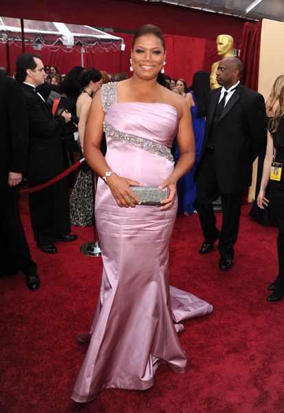 latifah oscar Hot Shots: Oscar Awards 2010 Red Carpet