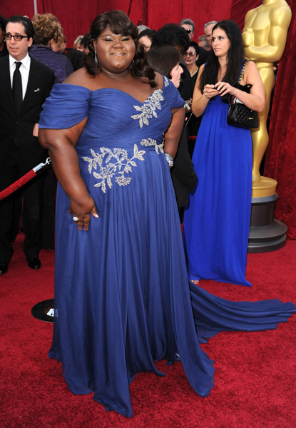 oscar sidibe Hot Shots: Oscar Awards 2010 Red Carpet