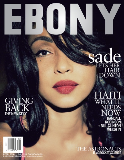 sade ebony Sade Covers Ebony