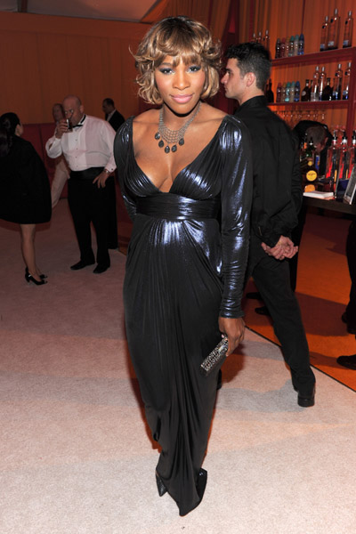 serena williams oscar Hot Shots: Stars At Elton John Oscar After Party