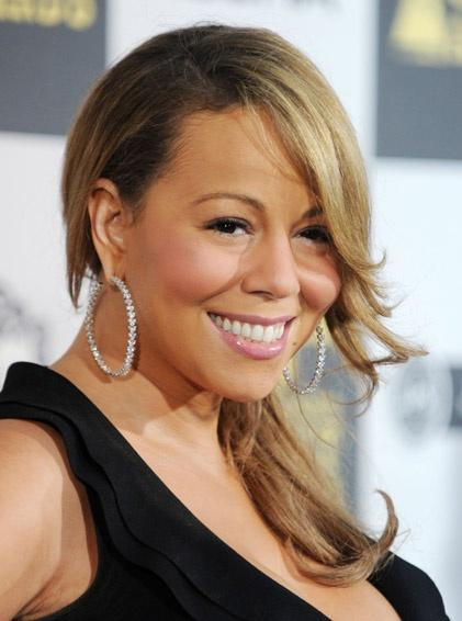thatgrapejuice33 Hot Shots: Mariah Carey Attends The Spirit Awards