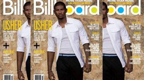 Usher Covers Billboard Magazine