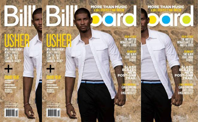 usher billboard 11 Usher Covers Billboard Magazine