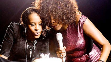 Whitney Surprises Bobbi-Kristina For Birthday