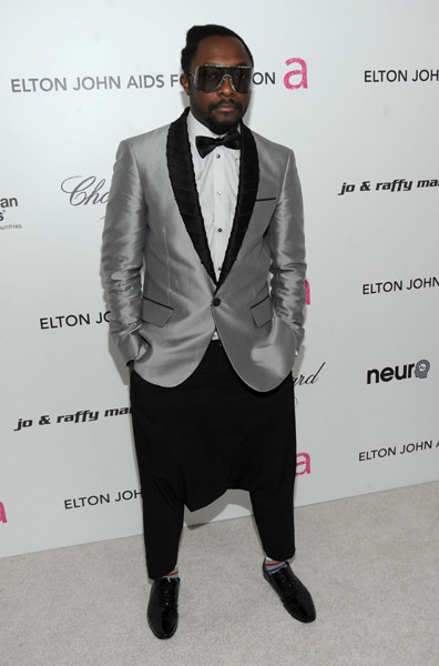 will i am oscar Hot Shots: Stars At Elton John Oscar After Party