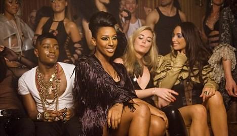 alexandra 23 e1271626230791 Hot Shots: More Pics Of Alexandra Burke On Set Of New Video