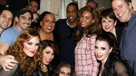 Hot Shot: Beyonce & Jay-Z Celebrate Anniversary 'Chicago' Style