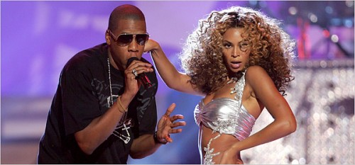 beyonce jay e1271493624214 Jay Z & Beyonce Perform At Coachella Festival