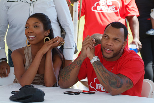 brandy flo rida Hot Shots: Brandy & Flo Rida At Kids Convention
