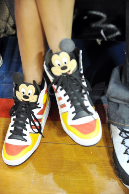 ciaia originals Hot Shots: Ciara Rocks Mickey Mouse Sneakers