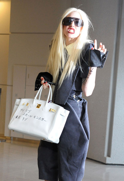 gaga oh lala Hot Shots: Lady GaGa Arrives In Japan