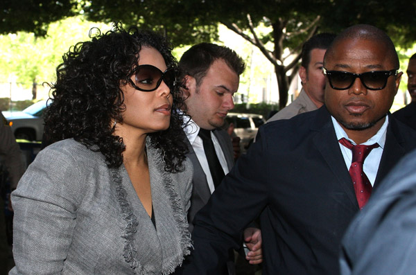 jacksons Jackson Family Attend Conrad Murray Hearing
