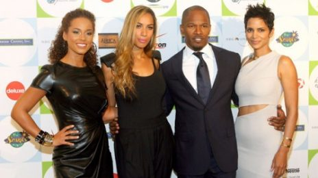 Hot Shots: Jamie Foxx, Leona, Alicia Keys & Halle Berry At Jenesse Center Gala