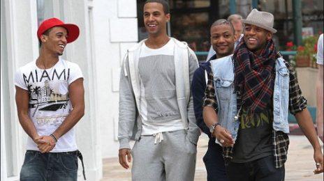 Hot Shot: JLS In LA