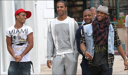 jls e1271077357828 Hot Shot: JLS In LA