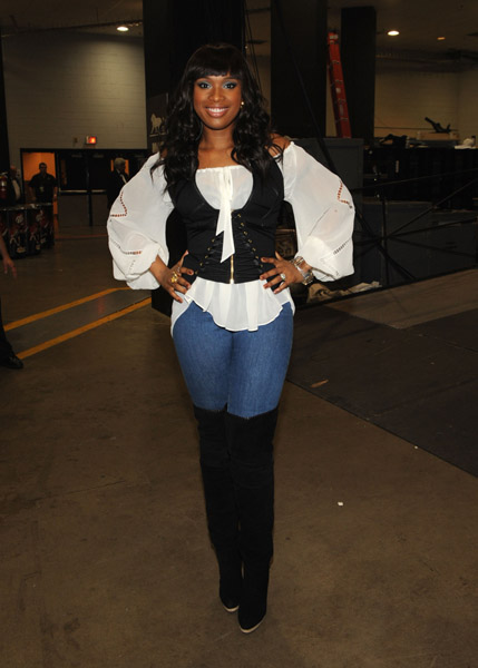 jslim Hot Shot: Jennifer Hudson Looks Slim In Vegas