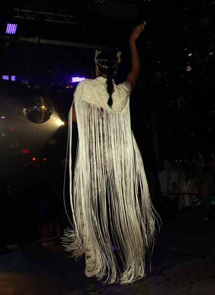 kelis3 Hot Shots: Kelis At Santos Party House