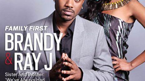 Hot Shot: Brandy & Ray J Cover Jet Magazine