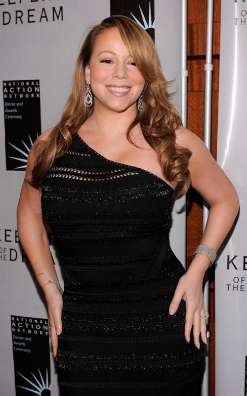 mariah o e1271405310505 Hot Shots: Mariah At Keepers of the Dream Awards