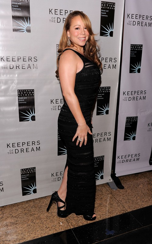 mariah w Hot Shots: Mariah At Keepers of the Dream Awards